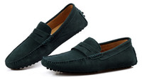 Wholesale New Mens Suede Casual Slip On Loafer Shoe Sneakers Moccasins Driving Shoes