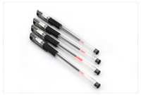 Wholesale Cheap fine mm Black gel pen best Office pens Writing fluency Improve work efficiency