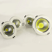 Wholesale Super w w w w LED COB Ceiling Light Cool White Warm White LED Down Light
