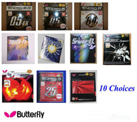 Wholesale Special Offer pc Butterfly bryce sriver tenergy spinart Table tennis Rubber Choices