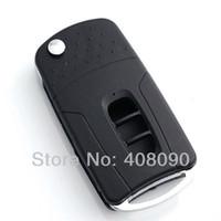Wholesale Uncut Flip Folding Remote Key Shell Case For Chevrolet Captiva Buttons DKT0085