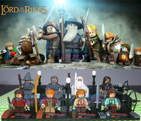 Wholesale 2014 New lord of the rings toys The Hobbit Action Figures toys building blocks toys New styles for children s gift