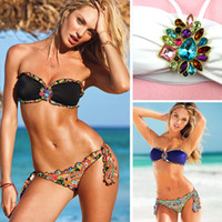 Wholesale Women Bikini set push up Swimwear dress VS Brand drop Shipping Sexy Good Quality Swimsuit New Arrival gift