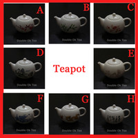 china tea sets - New Ceramic Teapot Patterns Fine Bone China Kungfu Teapot Set Porcelain Chinese Tea Cup Service Infuser Promotion