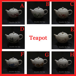 Wholesale New Ceramic Teapot Patterns Fine Bone China Kungfu Teapot Set Porcelain Chinese Tea Cup Service Infuser Promotion