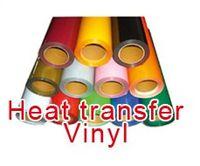 Wholesale Fast DISCOUNT rolls quot x20 quot x50cm PU vinyl for heat transfer heat press cutting plotter