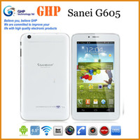 Under $200 Sanei 7 inch Sanei G605 Dual Core Phone call tablet pc 7 inch Android 4.2 Tablet PC Bluetooth Phone call Dual Cameras with sim card slot