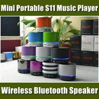 Wholesale Beatbox S11 NFC Mini speaker Wireless Bluetooth HIFI speakers with Strong bass Support TF Card For iPhone S c S S4 BS