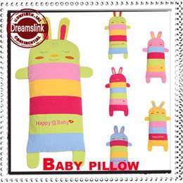 Wholesale 2014 Hot Baby supply Children Cotton Kids Baby pillow Baby Safe Sleep Pillow washable Rabbit Adjust sleeping pillow