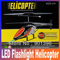 Electric 2 Channel 1:4 Big disocunt cheapest 20cm Mini Remote Radio Control RTF ready to fly 2CH metal LED Flashlight RC Helicopter free shipping