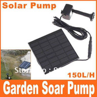 Wholesale Hot Sell Pool Water Pump Garden Plants Watering Kit Solar Power Fountain Soar Pump Water Pump Drop Shipping