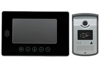 Wholesale Wired TFT Color LCD Video Door Entry Phone Intercom System with RFID Function for Villa