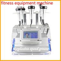 Wholesale 5IN1 Ultrasonic Cavitation Vacuum Bipolar Tripolar Multipolar RF Machine Slimming bio head with current