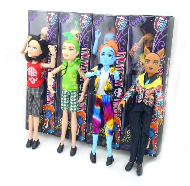 Monster High Fashion Boy Dolls Clawdeen WolfDeuce Gorgonjekyll