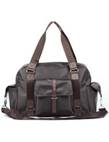 Wholesale Pockets Zipper PU Men s Travel Bag r14 u12 SIW