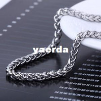 Wholesale Multiple personality titanium steel ring men titanium steel necklace long Taobao selling jewelry Free Agent