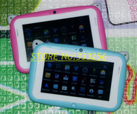 Wholesale Fretablet Pc R430c Inch Capacitive Touch Screen Android Kids Education Tablet with Wifi Dual Cameras gb Nand Flash Cpu Rk2926