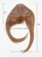 Wigs Accessories hello kitty accessories - Clip In Bangs hair Fringe human hair bangs different color is available