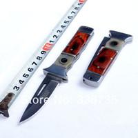 Wholesale New arrival high grade key folding knife OEM brand stainless steel multi function camping knife elegant gift knife