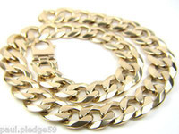 Party 9ct gold - Gents MASSIVE CT Gold Curb Chain GRAMS