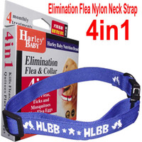 Wholesale 4in1 Anti Fleas Ticks Mosquitoes elimination collar Nylon Neck Strap for Dog