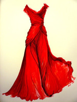 Reference Images Sweetheart Chiffon Buyer Supply Design Pictures of Evening Dress Prom Gown Red Carpet Celebirty Cocktail Dresses for Custom Make