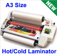 Wholesale Fast Discount Cheap HOT A3 Hot Cold Roll Laminator Pouch Laminating Machine