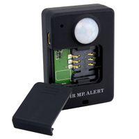 12W gsm alarm - Mini GSM Bug Body Heat Sensing Infrared Alarm System Motiondetection PIR MP Alert A9 Anti theft Alarm Q2022A