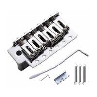Wholesale Chrome Electric Guitar Bridge Tremolo Bridge System For Fender Strat Style Electric Guitar Wholesales