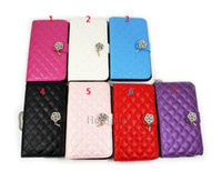 For Samsung Leather For Christmas Rose Wrist-let Flip Wallet Leather Case Cover For Samsung Galaxy Note 3 III N9000 10pcs