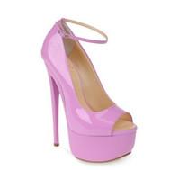 Cheap Light Purple High Heel Shoes | Free Shipping Light Purple ...