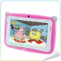 Nouvelle Arrval joli cadeau pour enfants 4.3 & quot ; Kidspad Dual core Android 4.2 enfants éducation tablette pc 512M 4Go mignon Tablet PC pour les enfants 002133
