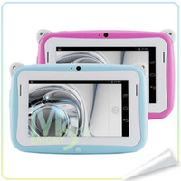 dual os - 4 inch Android OS Kids Tablet PC for Children with Wifi Dual Camera RK2926 CPU RAM GB ROM tablet pc for Kids Gift