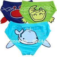 Boy Bikinis 3-6 Months Cheap 2013 Lovely Baby Boy Swim Trunks Kids Swimwear Children Underpants Bathing Shorts 3Colors 3Sizes 16459