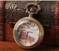 Casual classical pocket watch - Retro classical Fashion Large Pocket Watch Quartz Necklace watch Pendant Chain Clock XH057