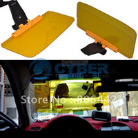 Interior Mirrors 4188# High-gloss resin (translucent) Free Shipping New SD-2302 Auto Car Sunglasses Sun Visor Extension CLIP Anti-glare Shield Flip Adjustable For Driving Car