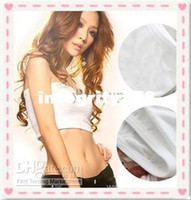 Breastforms&Enhancers Cotton Normal Wholesale - Shear seamless bandeau bra Strapless sport one piece bra fashion soft