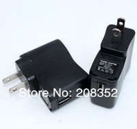 apple adapter dc power supply - 50PCS Black EU Plug AC Power V DC USB Charger Adapter Power Supply For All Type Cellphone