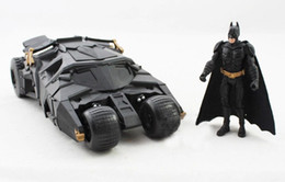 "Batman Vehicle The Dark Knight Toy Black Car Toys Batman Tumbler with 3.75"" Batman figure HRFG024"