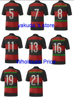 Thai Quality Customized Germany 2014 Away Soccer Jerseys , C...