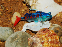 Wholesale 6 Color Plug Minnow fishing lures plastic fishing soft bait top water CM G hook dhl
