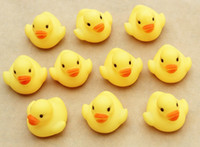 Plastic 0-12 Months Children's Day Baby Bath Water Toy toys Sounds Yellow Rubber Ducks Kids Bathe Children Swiming Beach Gifts 50pcs lot free shipping