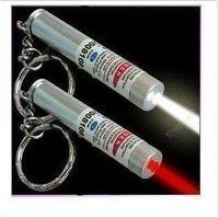 No best new flashlights - JJ253 Best Price New in White LED Light and Red Laser Pointer Pen Keychain Flashlight