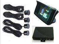 Wholesale Wireless Car VFD amp HUD display Reverse Parking Sensors Wifi Backup Radar Kit
