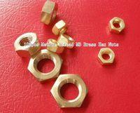 Wholesale 100pcs Metric Thread M3 Brass Hex Nuts
