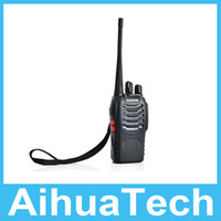 Wholesale BF S Walkie Talkie Handheld CB Walkie Talkie Baofeng BF888S Single Band UHF W CH Portable CB Radio High Quality Free DHL Shipping