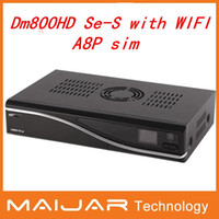 dm800 - 1pc Dm800 hd se wifi A8P sim Satellite Receiver mbps WLAN Inside A8P sim CPU BCM4505 Mhz Tuner Dm800 se s Wifi Fedex