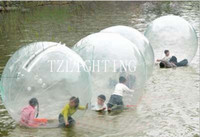 walk on water ball - 2M See through Inflatable PVC Water Ball High Quality And Safe Water Walking Ball Walk On Water Ball