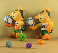 20cm Plush Toy 2014 Brazil World Cup Mascot Fuleco Baby Kids...