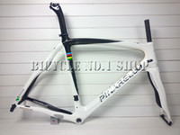 Wholesale 2014 T1000 K weave world champion movistar black white carbon road bike bicycle frame frames frameset for c road wheels wheelset